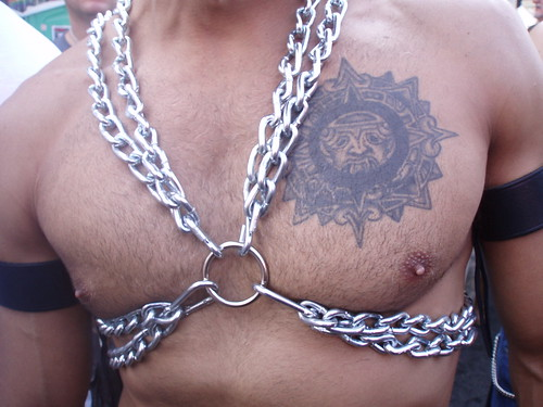 HOTTIE IN CHAINS- sexy chest (SAFE PHOTO)
