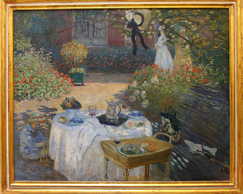 Claude MONET, Lunch, Circa 1874