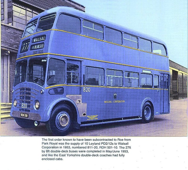 Luxury double decker 1953 | A Walsall Corporation order for