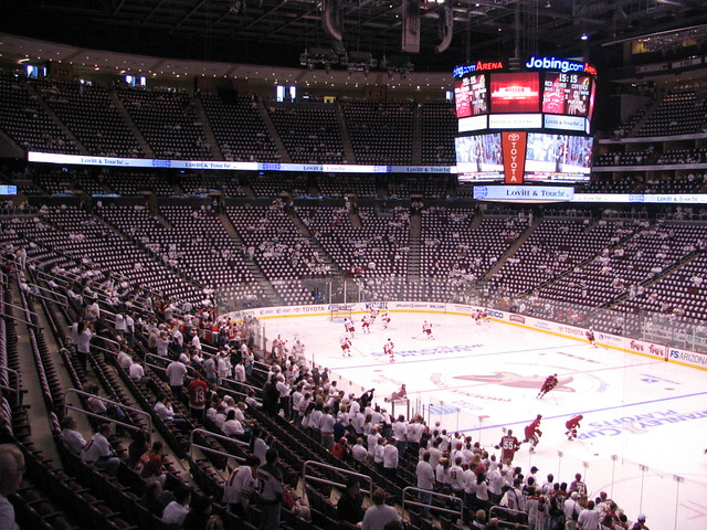 phoenix coyotes arena v - photo #12