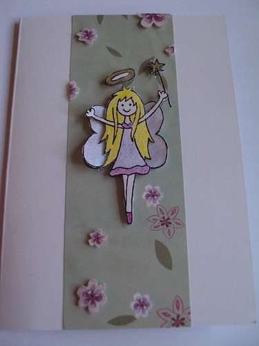 Little Fairy Decoupage Card