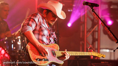 Brad Paisley at Walmart Soundcheck