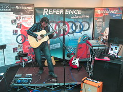 Live performance at The Reference Cable Corner (Acoustic Guitar Meeting 14 - Sarzana 2011)
