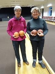 09/03/2014 - Saint Jean du Doigt : Les finalistes du concours de boules plombées en tête-à-tête