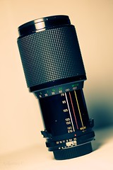 Vivitar Series 1 70-210mm f/3.5, the first Series 1 lens. Photo by flickr user C. Strife