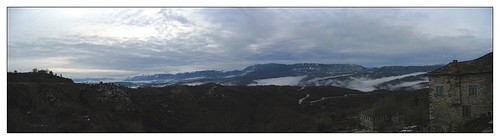 greece northerngreece snow panorama getaways epirus ελλάδα zagori mist mountains sky ζαγοροχώρια winter