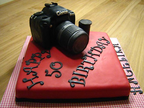 Canon Camera Cake A Photo On Flickriver