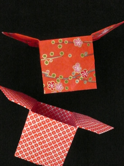 Sanbo Origami Boxes