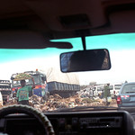 Onitsha Anambra State South Eastern Nigeria Africa's Biggest Market Oct 27 2002 306 No Garbage Collection near Neni