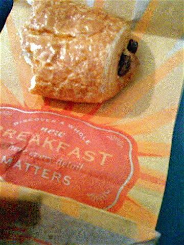 Panera Chocolate Pastry