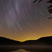 Star Trails over Heart Lake by stillwellmike