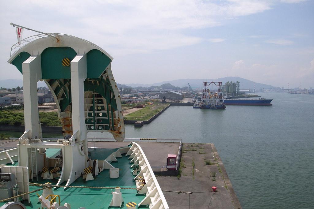 Ocean liner ferry