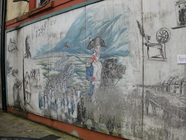 1798 Mural, Castlebar