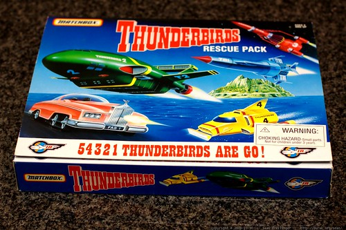 matchbox thunderbirds rescue pack    MG 6912