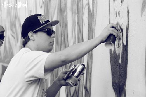 Graffiti Session: Illa J