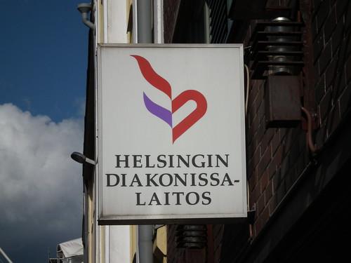 Helsingin Diakonissalaitoksen logo