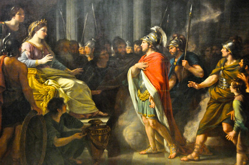 Nathaniel Dance-Holland - The Meeting of Dido and Aeneas, 1766 at Tate Britain Art Museum London England