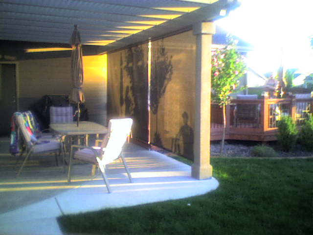 Patio Solar Shade Motorized Flickr Photo Sharing