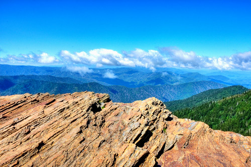sky mountain nature clouds view smokies smokymountains leconte gsmnp mtleconte clifftops