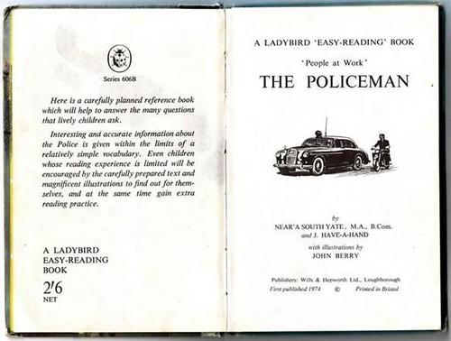 3770102172 6b7f2c1c78 Funny Ladybird Books police 1