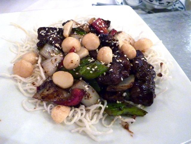 Beef with peppers and macadamia nuts   Flickr - Photo Sharing!