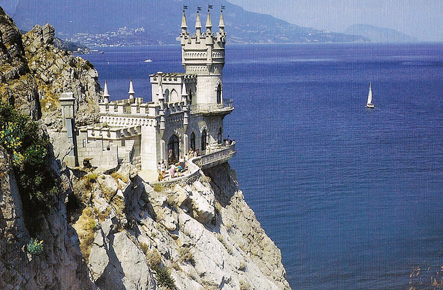 The Swallow's Nest, Crimea, Ukraine