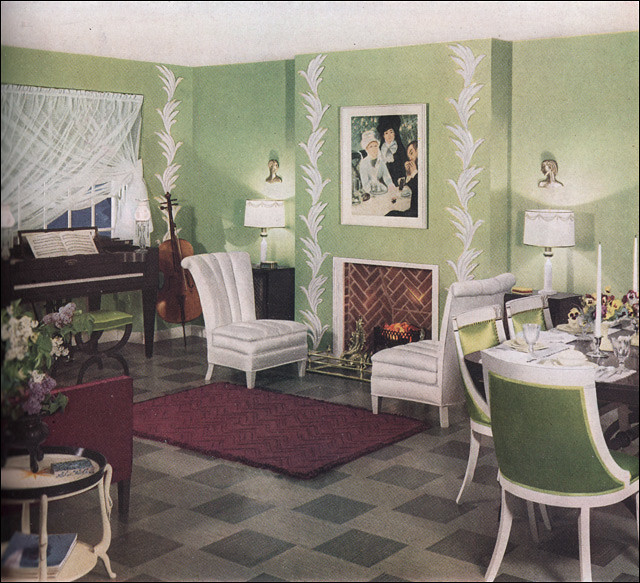 1930s Living Room A Gallery On Flickr