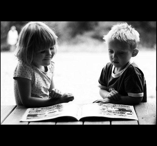 All the school kids so sick of books