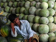 India - Koyambedu Market - Faces 35
