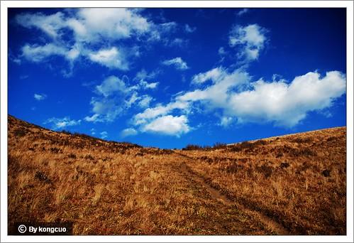 北灵山的草甸