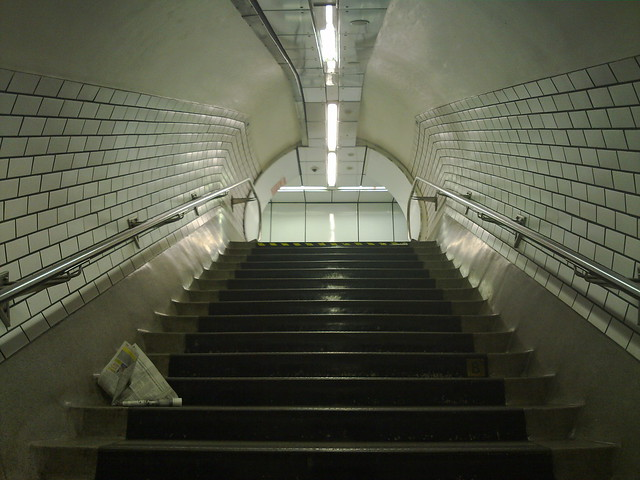 Holborn Tube.  Taken with the N86 8MP