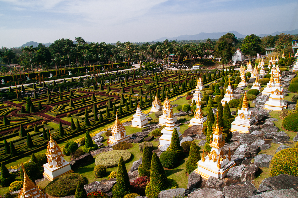 French Garden, Nong Nooch Tropical Garden, Pattaya