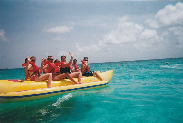 Banana Boat Ride on Paradise Island, 2000