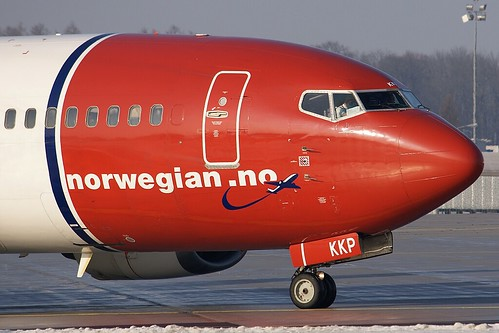 Norwegian Air Shuttle B737-300 LN-KKP