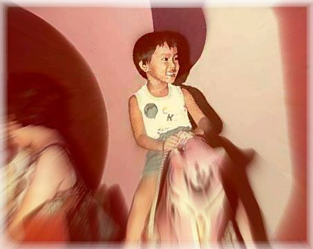 It's me riding a horsee when I was 5 :)