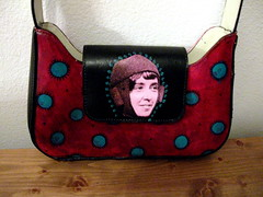 Helene Dutrieu purse (front) by pennylrichardsca (now at ipernity)