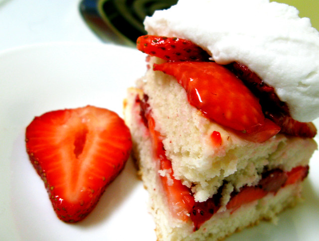 old fashioned style strawberry shortcake | Flickr - Photo Sharing!