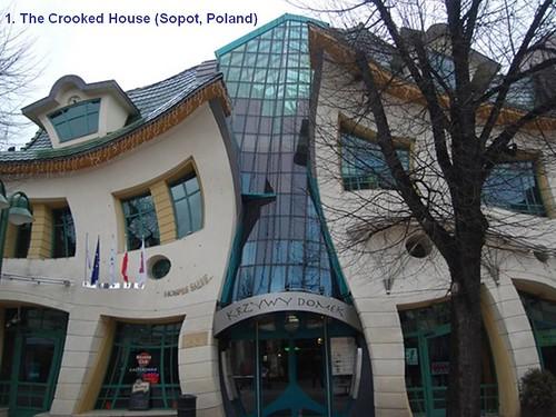 1. The Crooked House (Sopot, Poland)