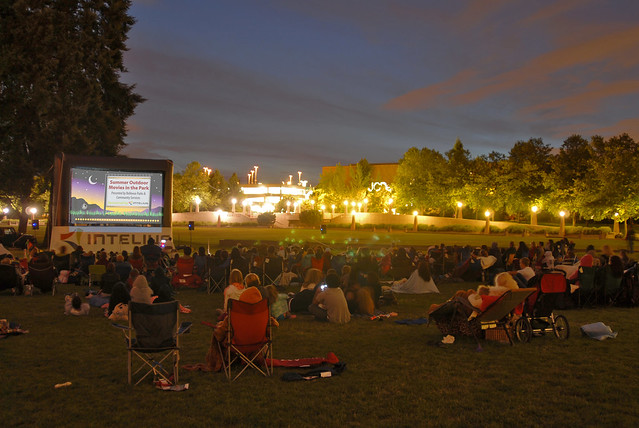 Free Movies Downtown Every Tuesday Night in August