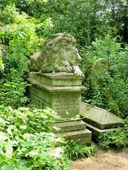 Frank C. Bostock's tomb