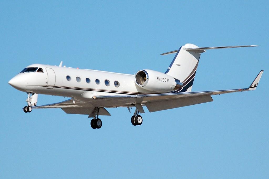 N473CW - GLF4 - Nordwind Airlines