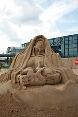 Sand Scultpture- Baby