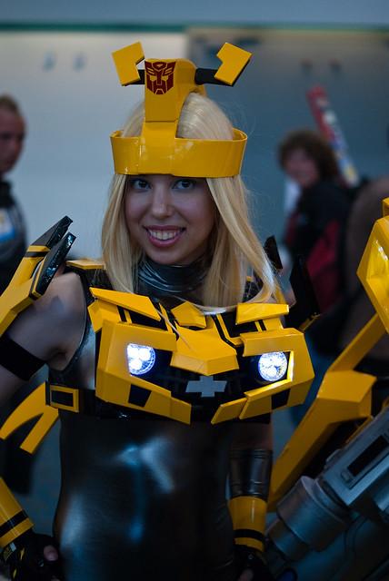 Transformers Girl