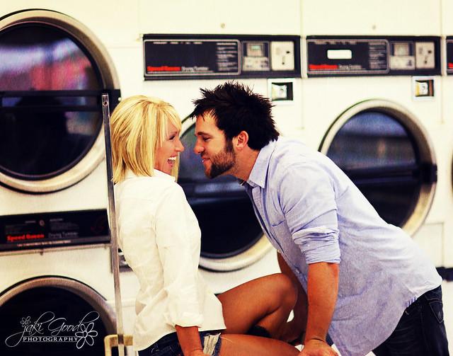 laundromat romance
