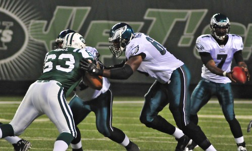 Football: Jets-v-Eagles, Sep 2009 - 10