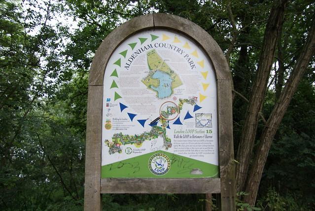 Header of Aldenham Country Park