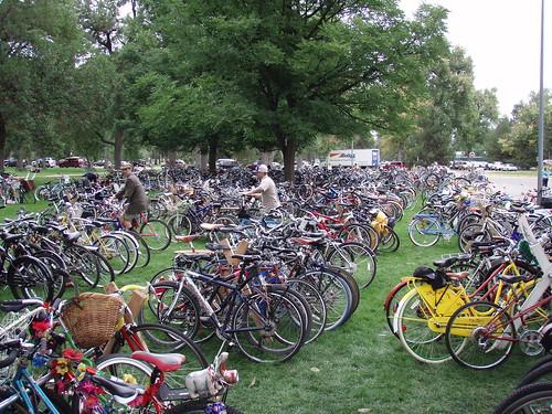 bikes everywhere!!
