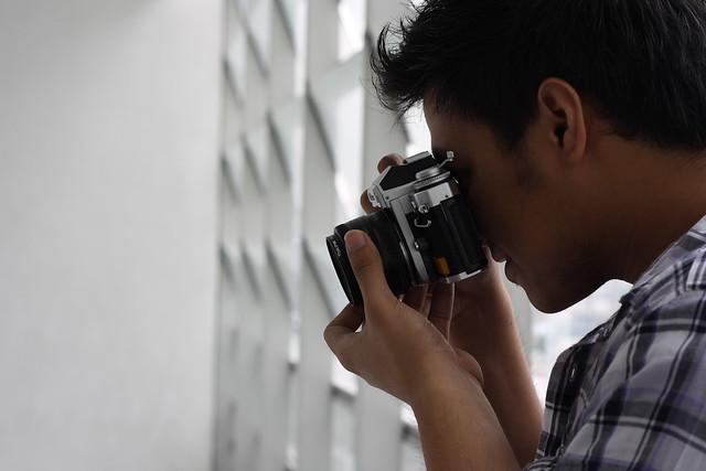 Taking the shot