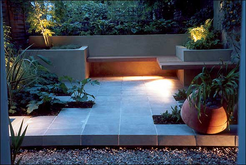Contemporary garden live home decor for Patios interiores modernos fotos