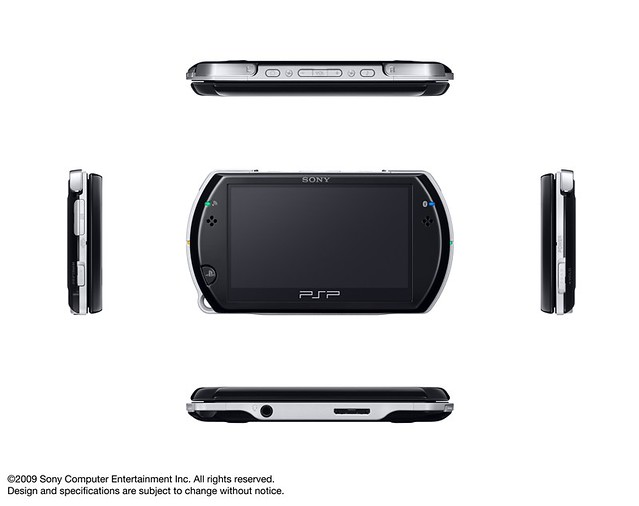 The New PlayStation Portable Go